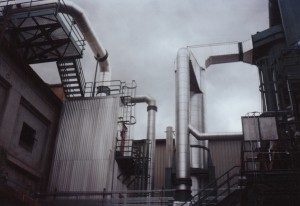 Precipitator and scrubber, Inland Empire Paper