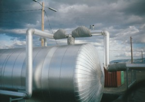 Nuclear Waste Water Storage Tank